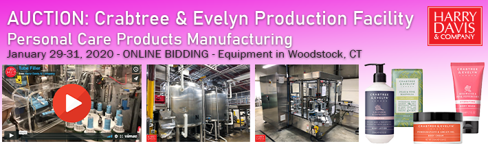 Crabtree & Evelyn Production Facility