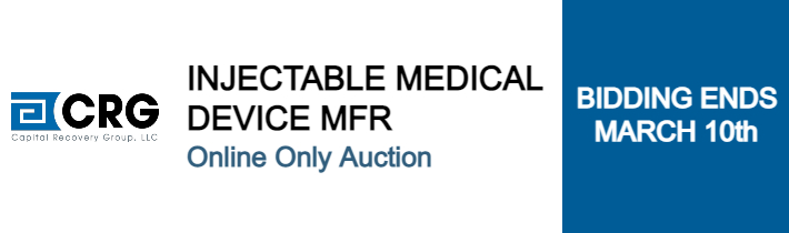 Auction: Former Injectable Medical Device Manufacturer