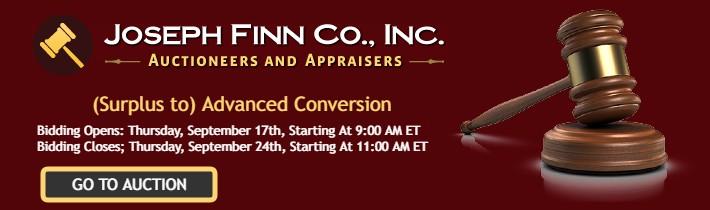 Online Auction: (Surplus to) Advanced Conversion