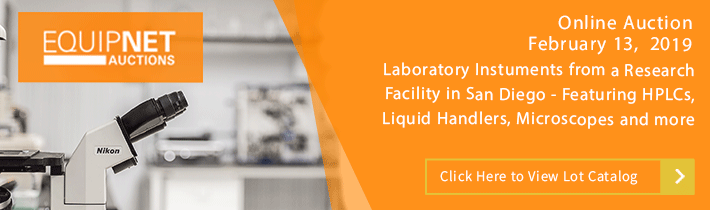Auction - Laboratory Instruments from a Research Facility in San Diego