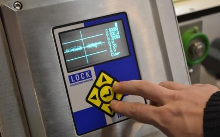 Lock Metal Detector
