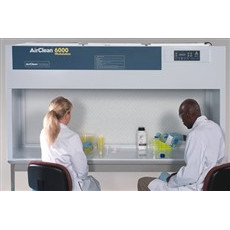 AirClean Systems Polypropylene Horizontal Laminar Flow Bench